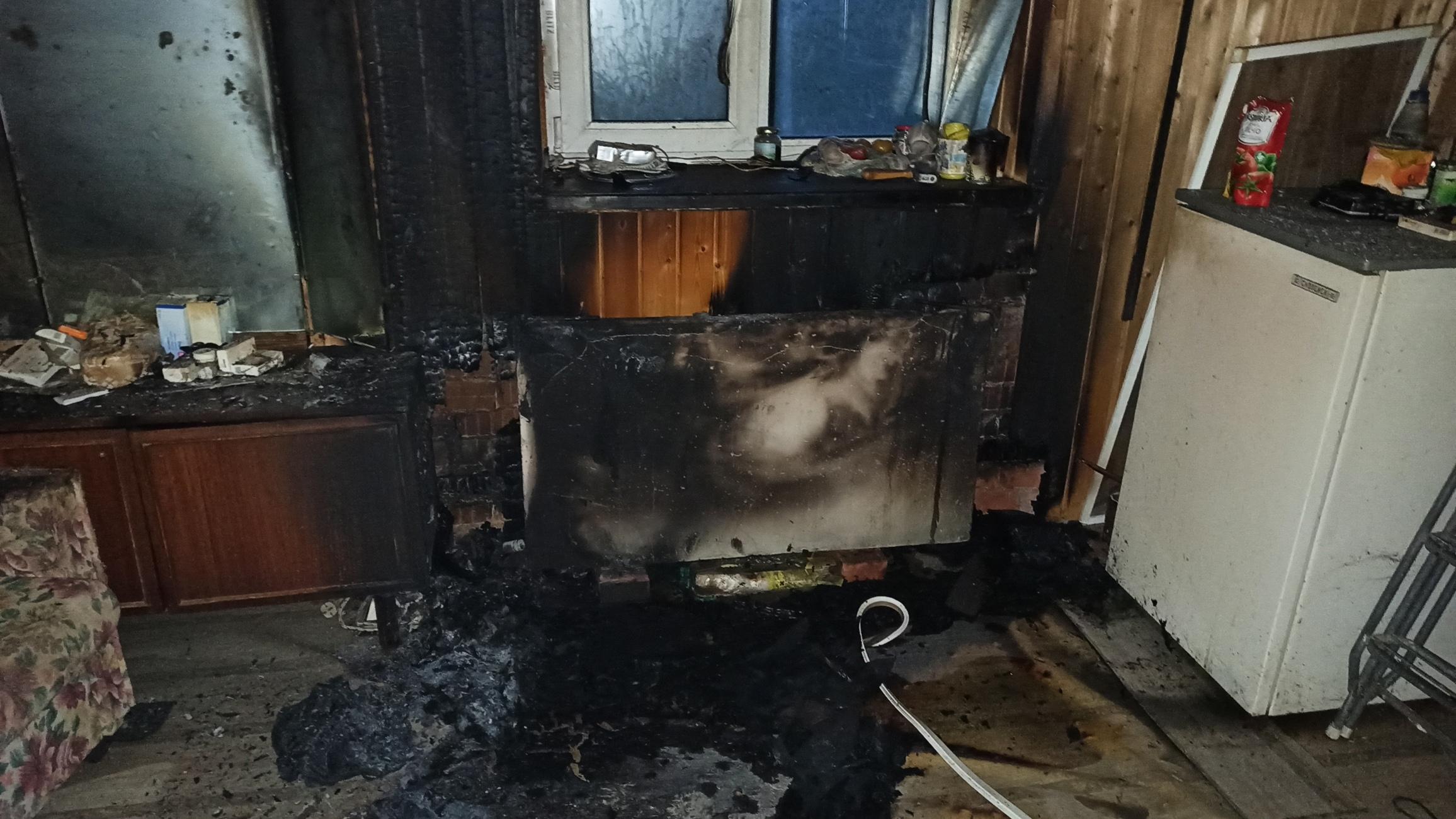 Пенсионерка погибла в результате пожара в Грязовецком районе