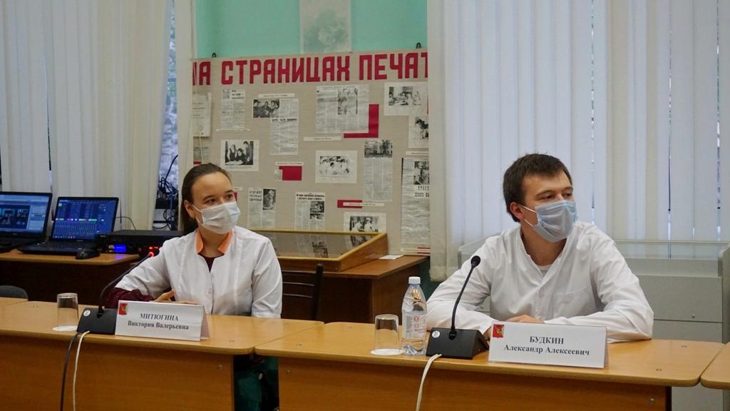 Развитие здравоохранения в Вологодской области обсудили в формате круглого стола