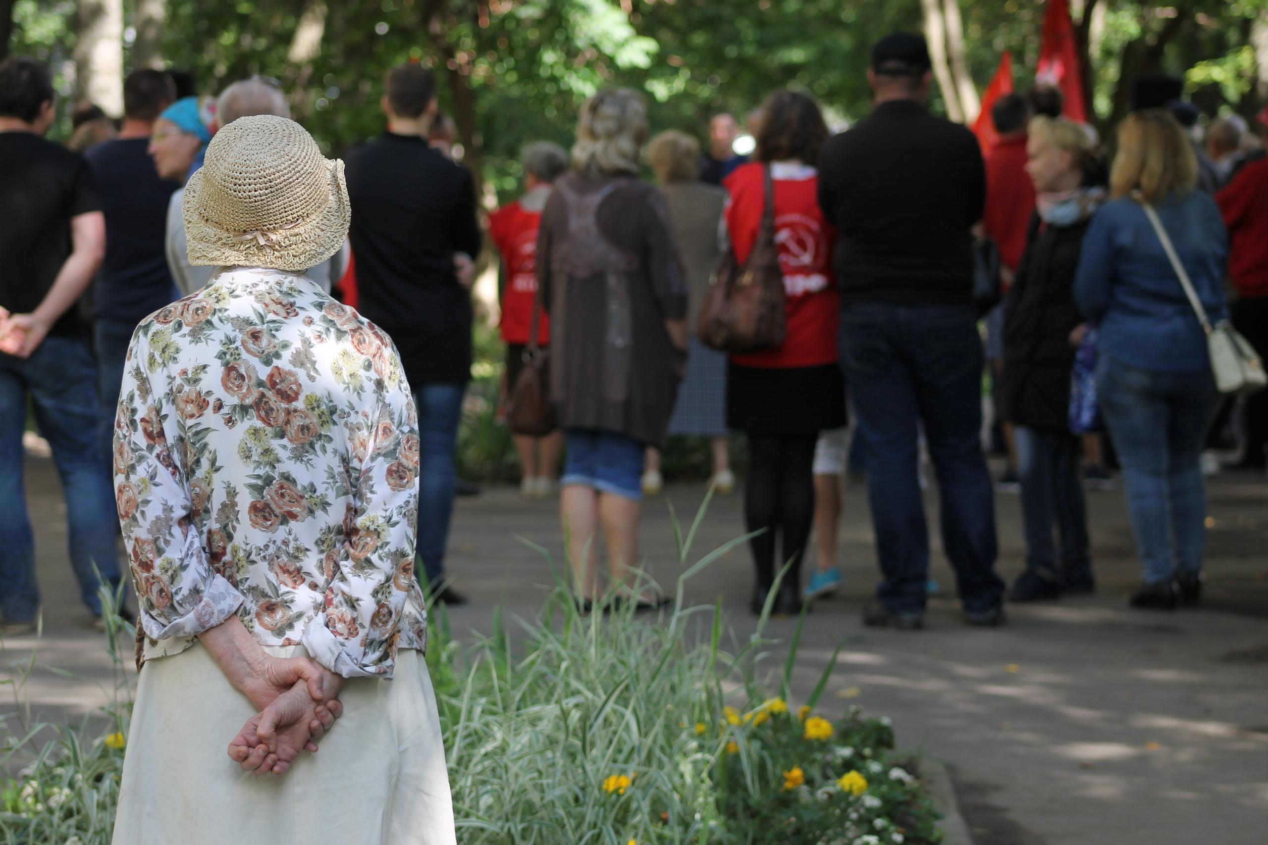 В Вологде прошел митинг за честные выборы