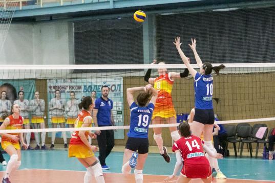 Волейболистки череповецкой «Северянки» вышли в полуфинал Высшей лиги А
