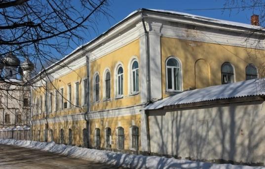 В Вологде загорелось здание структуры Минобороны из Санкт-Петербурга