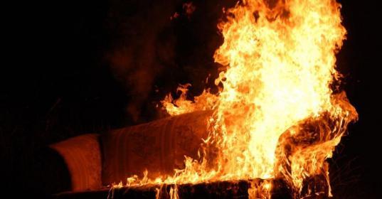 В Бабушкинском районе при пожаре погиб пьяный мужчина