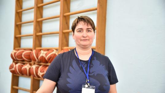 «Педагогом года» в Вологде стала учитель физкультуры школы №13 Татьяна Завадская