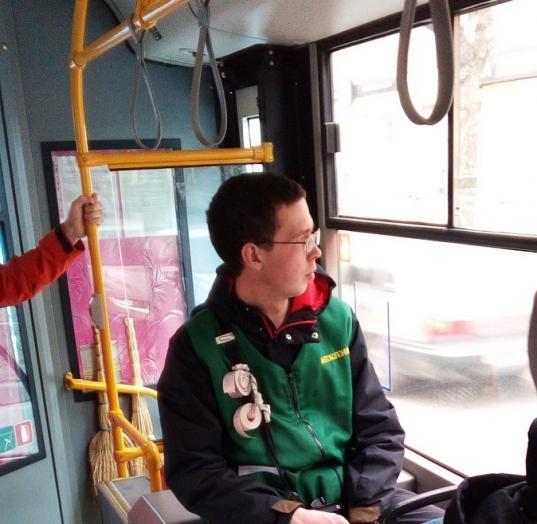"""""""Спасибо кондуктору Никите!"""": пассажиры в Череповце благодарят молодого человека, который всем желает счастливого пути"""