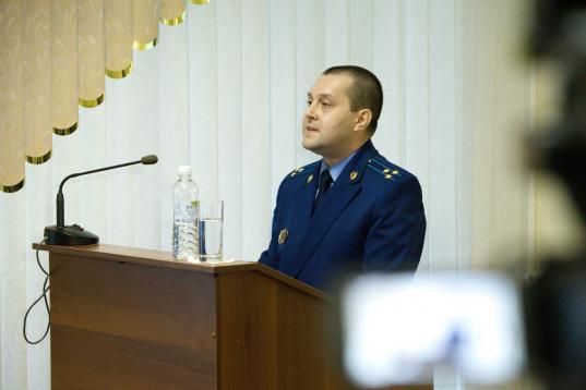 Первый зампрокурора Вологодской области Алексей Васильков перешел на работу в Генпрокуратуру России