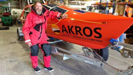Лодка Федора Конюхова перевернулась в Южном океане во время кругосветного путешествия