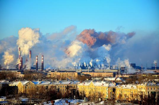 К 2024 году в Череповце обещают на 20% снизить объемы загрязняющих воздух выбросов