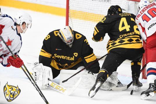 Череповецкая «Северсталь» потеряла шансы на выход в плей-офф