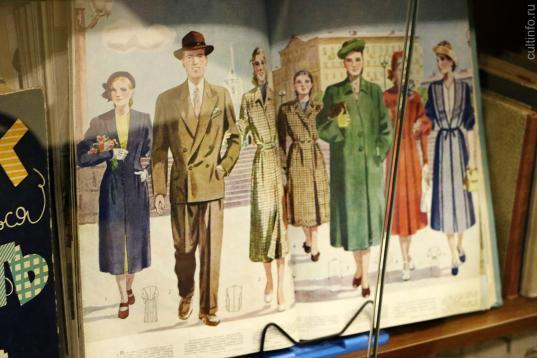 В Вологде открылась выставка, посвященная моде первой половины XX века