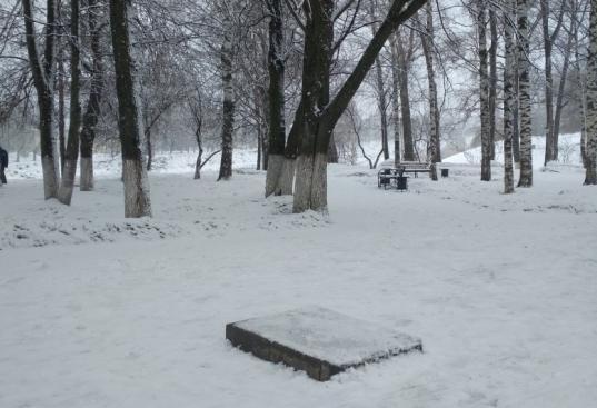 В Вологде вандалы опрокинули памятник букве «О»