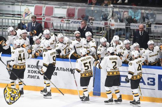 Череповецкая «Северсталь» завершила турне по Сибири и Дальнему Востоку без поражений