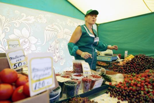 В Тотьме, Вологде и Череповце хотят открыть торговые павильоны для сбыта фермерской продукции