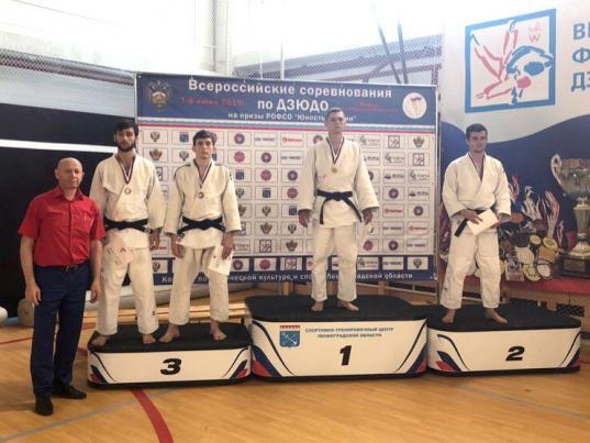Череповчане Павел и Петр Беляевы стали призерами всероссийских соревнований по дзюдо