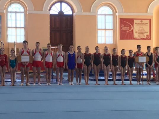Вологжане завоевали три медали на Всероссийских соревнованиях по спортивной гимнастике