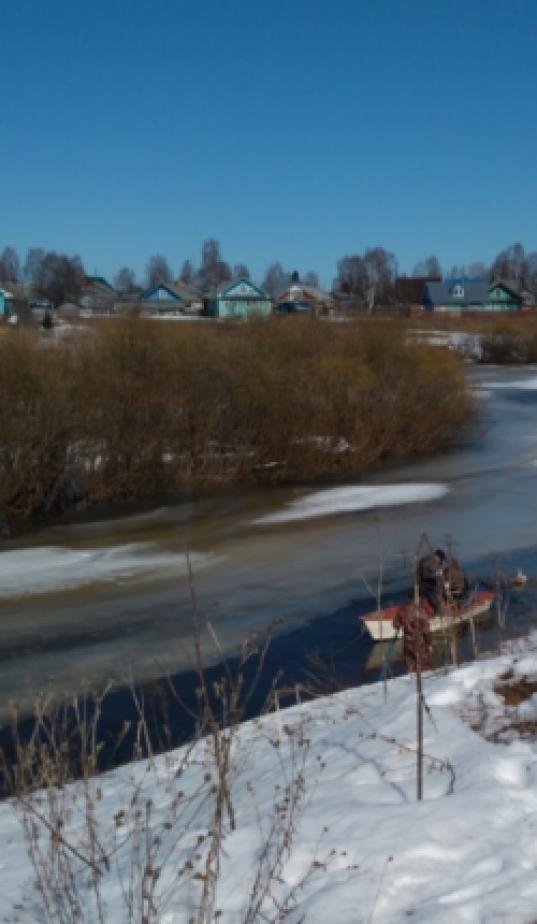 В Кичменгско-Городецком районе нашли тело 6-летнего мальчика, провалившегося под лед