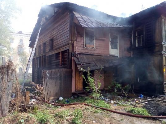В Вологде вновь горел выявленный памятник архитектуры на улице Гоголя, 116