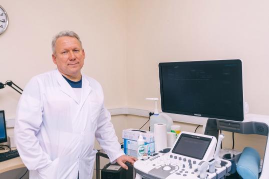 Женское УЗИ в клинике «Вита» выполняет Шишов Александр Николаевич