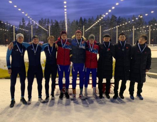 Вологодские конькобежцы стали победителями Кубка мира среди юниоров