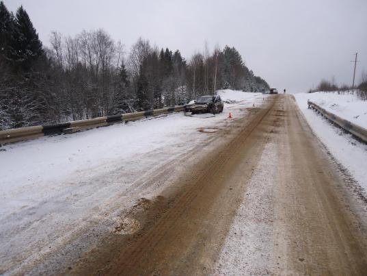Областное управление автодорог оштрафовали на 100 000 рублей за скользкую трассу в Великоустюгском районе