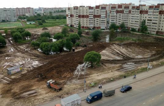 Администрация Вологды в 2019 году объявит новый аукцион на доделку работ в Фрязиновском парке