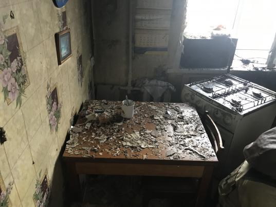 В квартире в Соколе из-за неисправности газовой плиты загорелась кухня