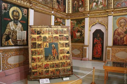 Выставка с уникальной иконой XVII века открылась в Великом Устюге