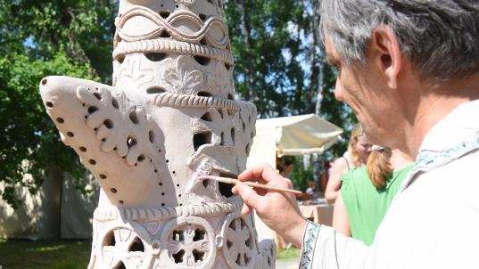 Работы мастеров фестиваля «Город ремесел» в этом году будут выставляться в Вологодском музее-заповеднике