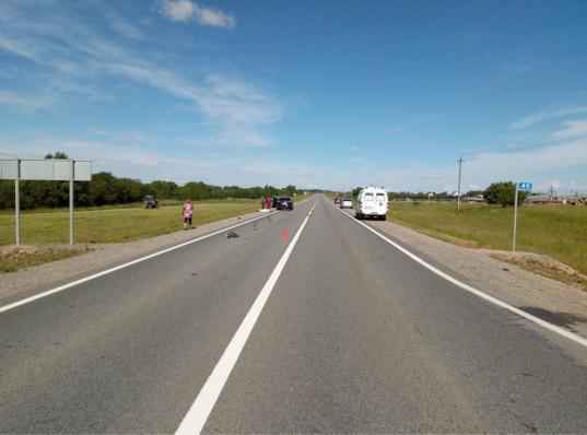 В Великоустюгском районе иномарка опрокинулась в кювет: водитель погиб