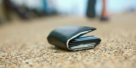 В Вологде покупатели магазина нашли чужой кошелек и украли из него 20 тысяч рублей
