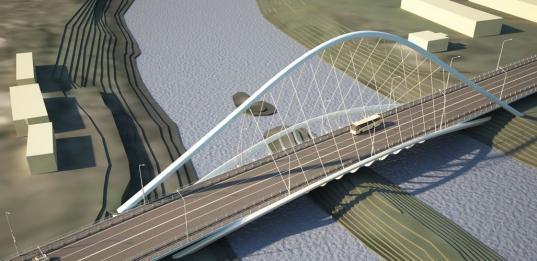 Из бюджета Вологды потратят 35 млн рублей на корректировку проекта Некрасовского моста