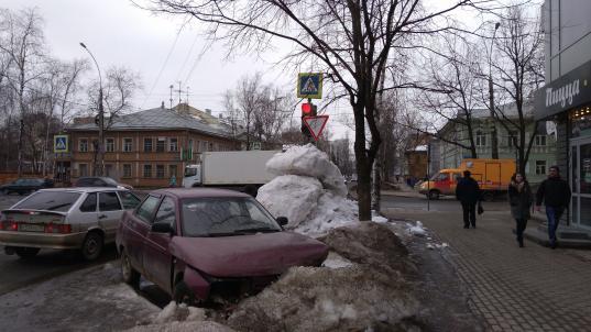 За некачественную уборку Вологды от снега зимой «Магистраль» оштрафовали на 235 тысяч рублей