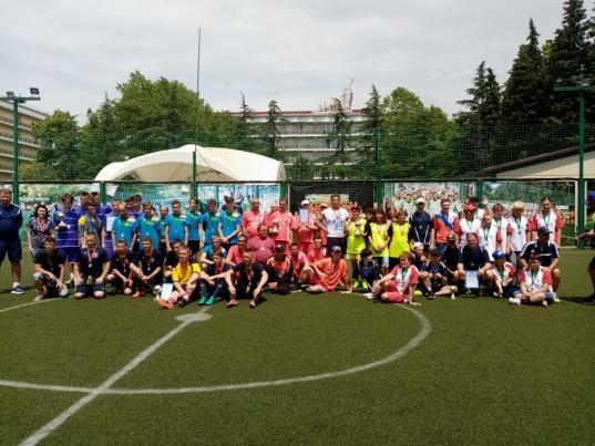 Сборная Вологодской области завоевала золото соревнований по футболу среди людей с интеллектуальными нарушениями
