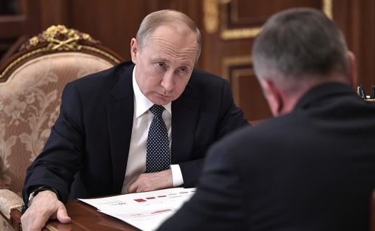 Путин поддержал кандидатуру Кувшинникова на губернаторские выборы