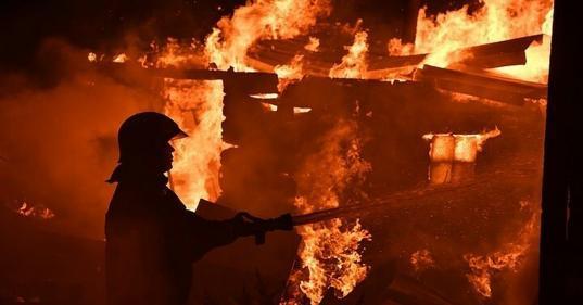 В Кичменгско-Городецком районе во время пожара погибла пенсионерка