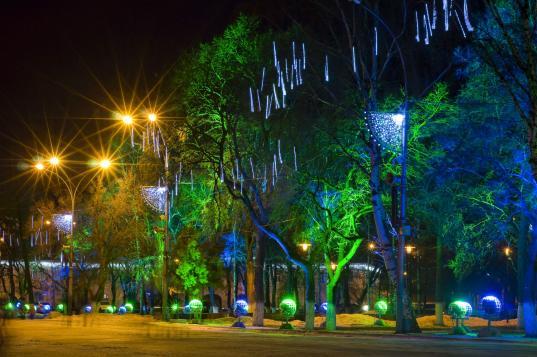 За несколько лет в Вологде планируют потратить 40 млн рублей на новогодние украшения города