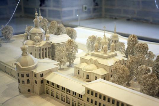 В Вологде откроется выставка макетов памятников архитектуры из Архангельска, Костромы и Вологды