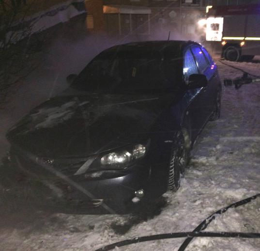 В Череповце задержаны двое молодых людей, поджигавших автомобили
