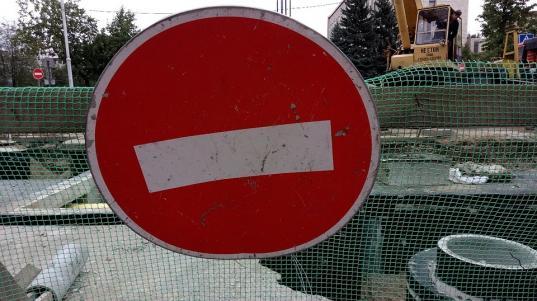 Перекресток улиц Предтеченская и Герцена в Вологде перекроют из-за реконструкции ливневки 8 и 9 июня