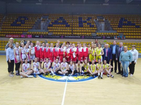 Баскетболистки-школьницы из Вологды вышли в финал всероссийских соревнований