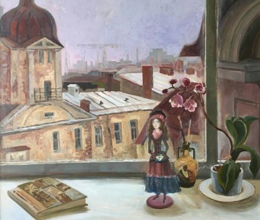 Выставка картин с куклами петербургского художника Марины Щекотовой открылась в Вологде