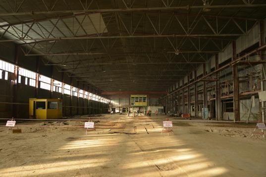 В Соколе начали строить первый в России завод по производству CLT-панелей