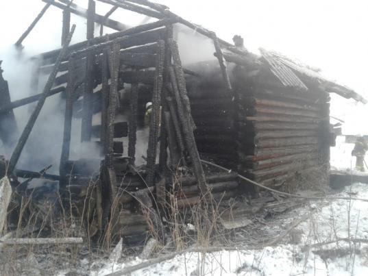 В Нюксенском района на пожаре погибли муж с женой