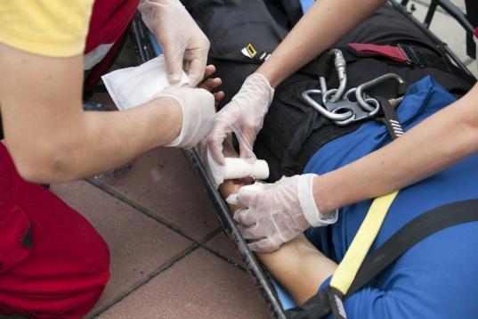 В поликлинике № 4 Вологды по пятницам проходят бесплатные мастер-классы по оказанию первой помощи