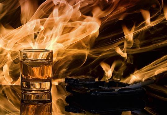 40% погибших на пожарах в 2018 году вологжан были пьяны