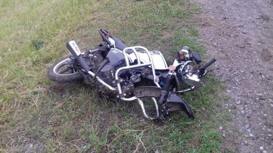 В Устюженском районе столкнулись УАЗ и мопед: погиб 70-летний мужчина