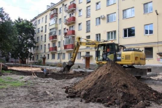 39 дворов обещают отремонтировать в Вологде в 2019 году