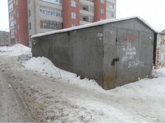 Незаконные гаражи в Вологде будут увозить в район Льнокомбината