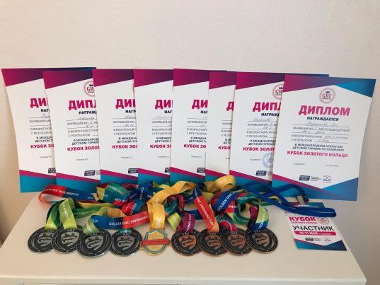 Череповецкие спортсмены завоевали медали международного детского турнира по плаванию