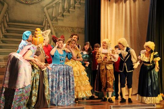 В новогодние каникулы в Вологде пройдет фестиваль любительских театров