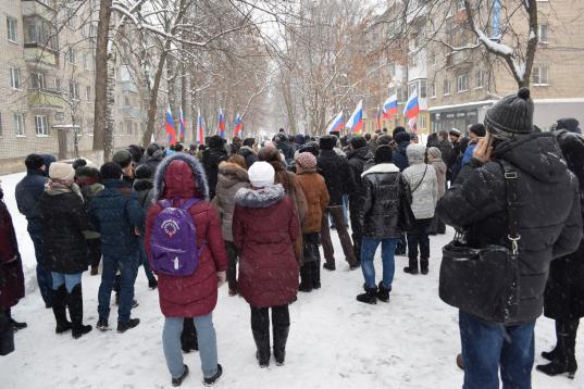 """Полиция требует наказать Евгения Доможирова за организацию митинга против """"мусорной"""" реформы, организатором которого он не являлся"""